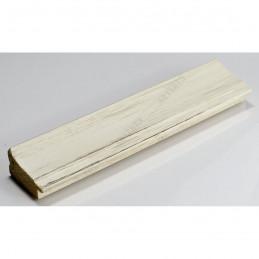 INK7501.480 45x21 - drewniana biała rama do obrazów i luster sample