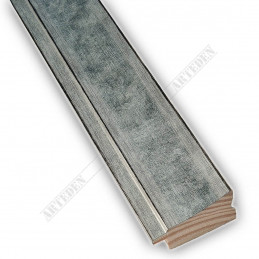 INK7501.653 45x21 - drewniana srebrna rama do obrazów i luster sample1