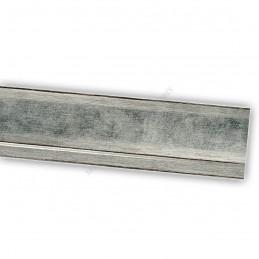 INK7501.653 45x21 - drewniana srebrna rama do obrazów i luster sample