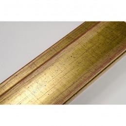 INK7501.747 45x21 - drewniana złota rama do obrazów i luster