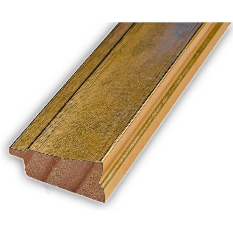 INK7501.753 45x21 - drewniana złota rama do obrazów i luster