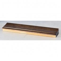 INK7501.773 45x21 - drewniana brąz metaliczna rama do obrazów i luster sample1