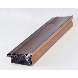 INK7501.773 45x21 - drewniana brąz metaliczna rama do obrazów i luster sample