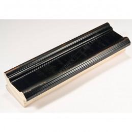 INK6201.571 45x25 - drewniana czarna z przecieranymi brzegami rama do obrazów i luster sample1
