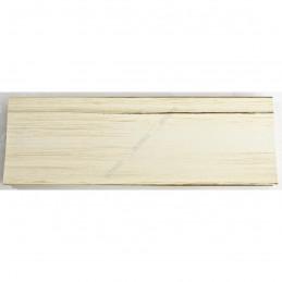 INK7502.480 70x30 - drewniana biała mat przecierka rama do obrazów i luster sample1