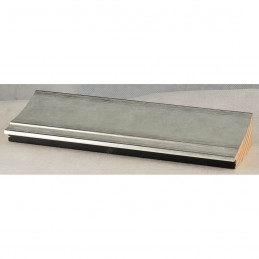 INK7502.653 70x30 - drewniana srebrna rama do obrazów i luster sample1