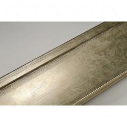 INK7502.673 70x30 - drewniana złota szampańska rama do obrazów i luster