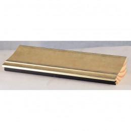 INK7502.673 70x30 - drewniana złota szampańska rama do obrazów i luster sample1