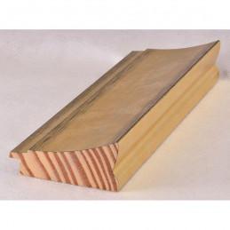 INK7502.753 70x30 - drewniana złota rama do obrazów i luster sample