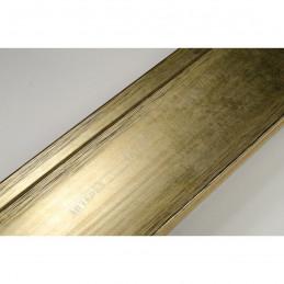 INK7502.753 70x30 - drewniana złota rama do obrazów i luster