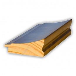 INK7502.773 70x30 - drewniana brąz metaliczna rama do obrazów i luster sample