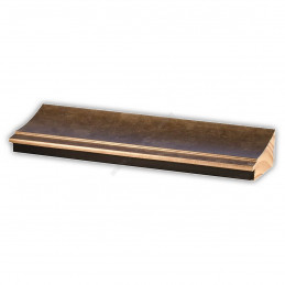 INK7502.773 70x30 - drewniana brąz metaliczna rama do obrazów i luster sample1