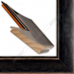 INK7503.471 110x38 - czarna mat przecierka rama do dużych obrazów i luster sample1