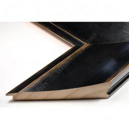 INK7503.471 110x38 - czarna mat przecierka rama do dużych obrazów i luster sample