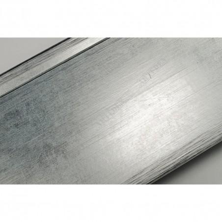 INK7503.653 110x38 - srebrna rama do dużych obrazów i luster
