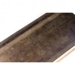 INK7503.773 110x38 - brąz metaliczna rama do dużych obrazów i luster
