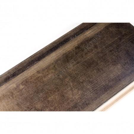 INK7503.773 110x38 - brązowa metaliczna rama do obrazów i luster