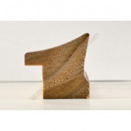 INK7520.536 23x22 - wąska ciemny brąz rama do zdjęć i luster sample
