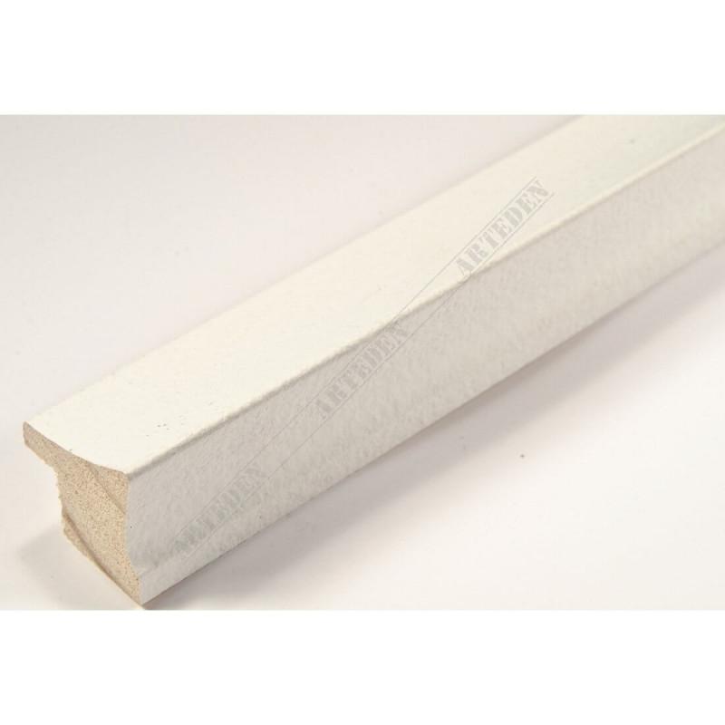 INK7520.585 23x22 - wąska biała rama do zdjęć i luster