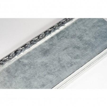 INK7523.653 90x30 - szeroka srebrna-dekor rama do obrazów i luster
