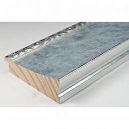 INK7523.653 90x30 - szeroka srebrna-dekor rama do obrazów i luster sample1