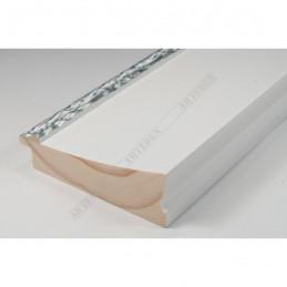 INK7523.681 90x30 - szeroka biała-dekor rama do obrazów i luster sample1