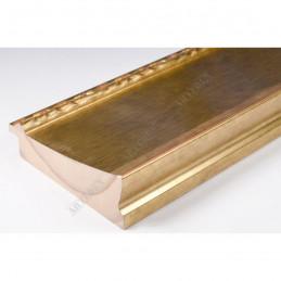 INK7523.740 90x30 - szeroka złota-dekor rama do obrazów i luster sample1