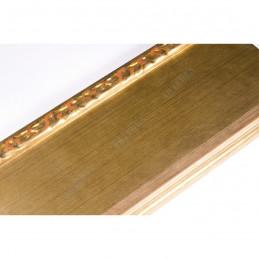 INK7523.740 90x30 - szeroka złota-dekor rama do obrazów i luster