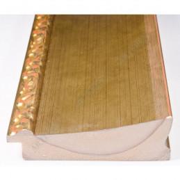 INK7523.740 90x30 - szeroka złota-dekor rama do obrazów i luster sample
