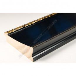 INK7523.771 90x30 - szeroka czarna-dekor rama do obrazów i luster sample1