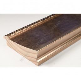 INK7523.773 90x30 - szeroka brąz metaliczna-dekor rama do obrazów i luster sample1