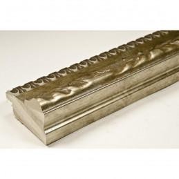 INK7531.640 45x25 - drewniana brąz metaliczna rama do obrazów i luster
