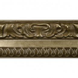 INK7531.640 45x25 - drewniana brąz metaliczna rama do obrazów i luster sample1