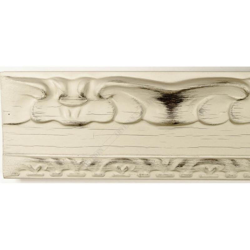 INK7532.585 70x35 - drewniana ciemna beż dekor rama do obrazów i luster sample1