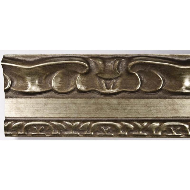 INK7532.640 70x35 - drewniana brąz metaliczna dekor rama do obrazów i luster sample1