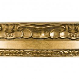 INK7532.740 70x35 - drewniana perłowa-złoty dekor rama do obrazów i luster sample1