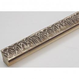 INK7550.603 23x23 - wąska stare srebro dekor rama do zdjęć i luster sample