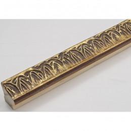 INK7550.703 23x23 - wąska stare złoto dekor rama do zdjęć i luster sample