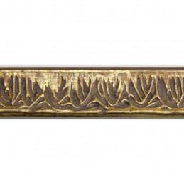 INK7550.703 23x23 - wąska stare złoto dekor rama do zdjęć i luster sample1