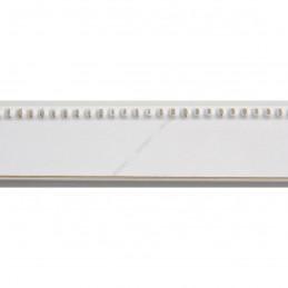 INK7560.481 23x23 - wąska biała perełka rama do zdjęć i luster sample1