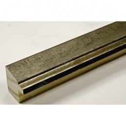 INK7901.973 22x22 - wąska marmurkowa szarość rama do zdjęć i luster sample