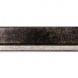 INK7901.976 22x22 - wąska marmurkowy brąz rama do zdjęć i luster sample1