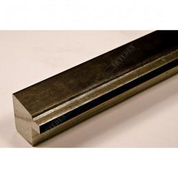 INK7901.979 22x22 - wąska marmurkowy jasny brąz rama do zdjęć i luster sample