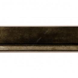 INK7901.979 22x22 - wąska marmurkowy jasny brąz rama do zdjęć i luster sample1