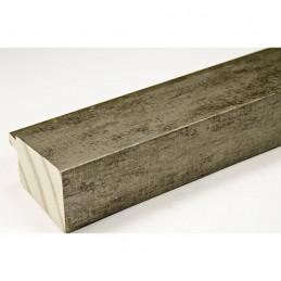 INK7902.973 43x27 - drewniana marmurkowa szarość rama do obrazów i luster