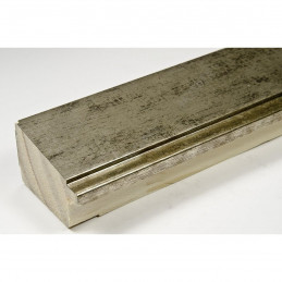INK7902.973 43x27 - drewniana marmurkowa szarość rama do obrazów i luster sample