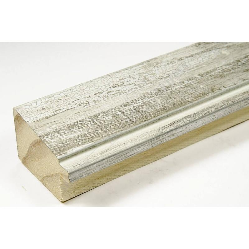 INK7902.986 43x27 - drewniana popękana szarość rama do obrazów i luster sample