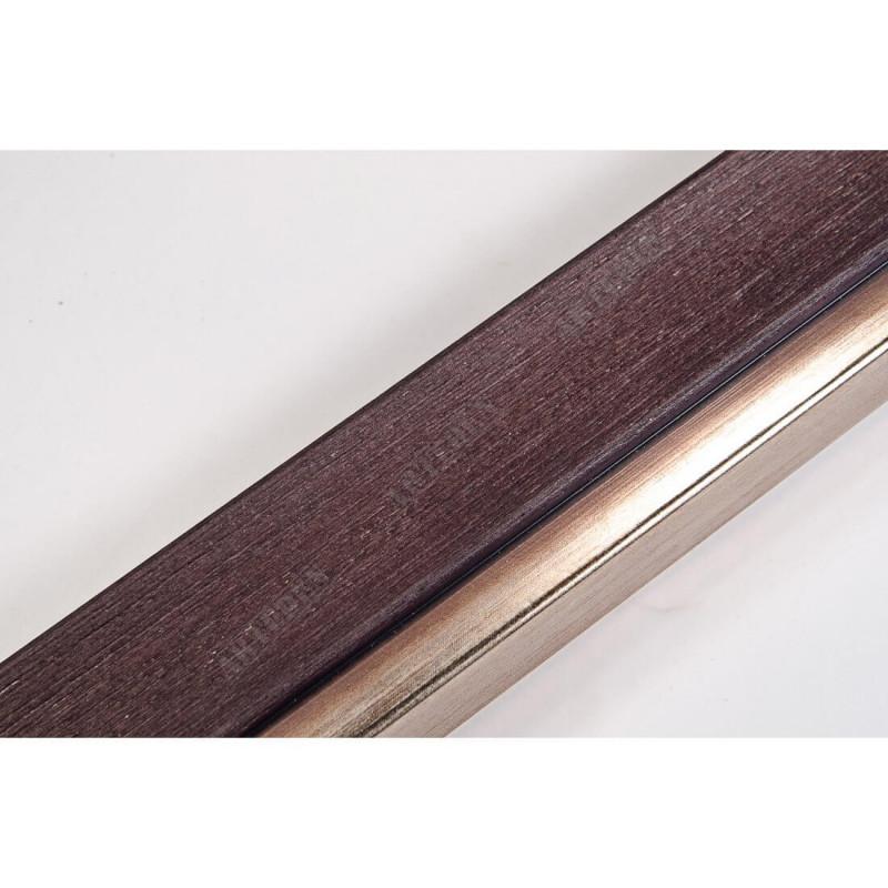 LMF1851WENGE 35x15 - drewniana wenge rama do obrazów i luster