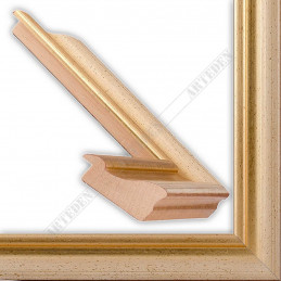 LMF616.131.1032/OroAvorio 43x24 - drewniana złota rama do obrazów i luster sample