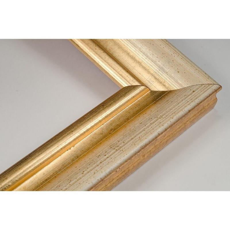 LMF616.131.1032/OroAvorio 43x24 - drewniana złota rama do obrazów i luster